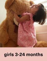 Girls 3-24 Months