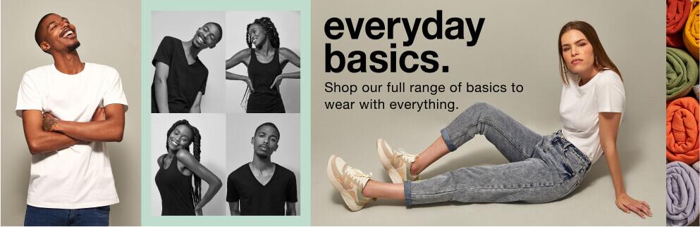 mens & ladies everyday basics fashion