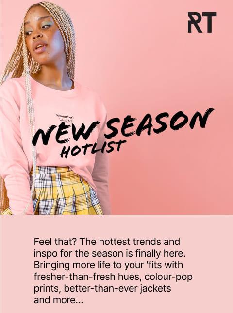 new season hotlist for ladies