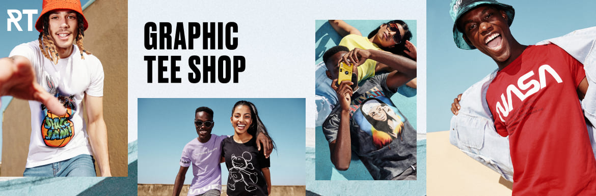 shop graphic tees for men